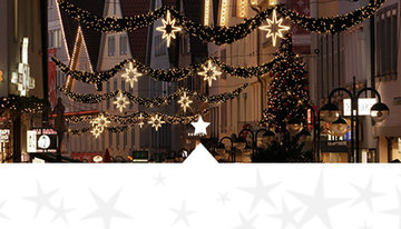 Kerstverlichting-winkelstraat