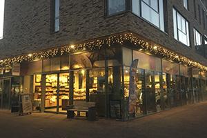 kerstverlichting winkelcentrum Vlaardingen