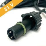 31 Volt String Light - 5m, 30 LED's_