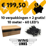 set Wing Links boomverlichting