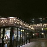 gevelverlichting luifel winkelcentrum