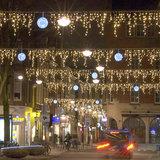 ijpegelverlichting winkelstraat