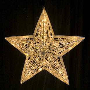 Fiber Star 3D (afmeting 100cm bij 40cm)