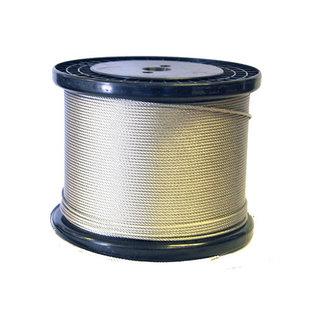 Staalkabel 3mm met PVC coating