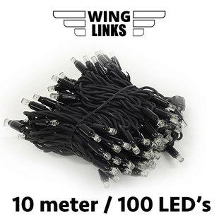Lichtsnoer van 10m met 100 LED's